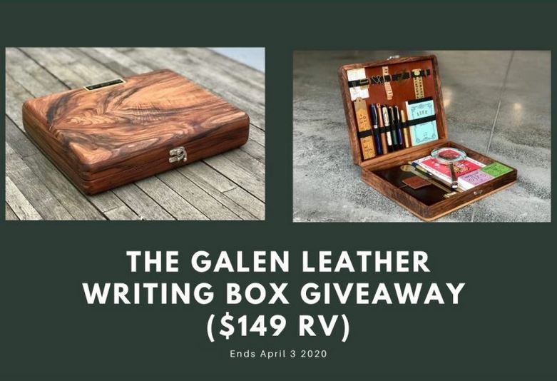 Galen Leather Box