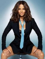 Women can look hot in ties too - Halle Berry