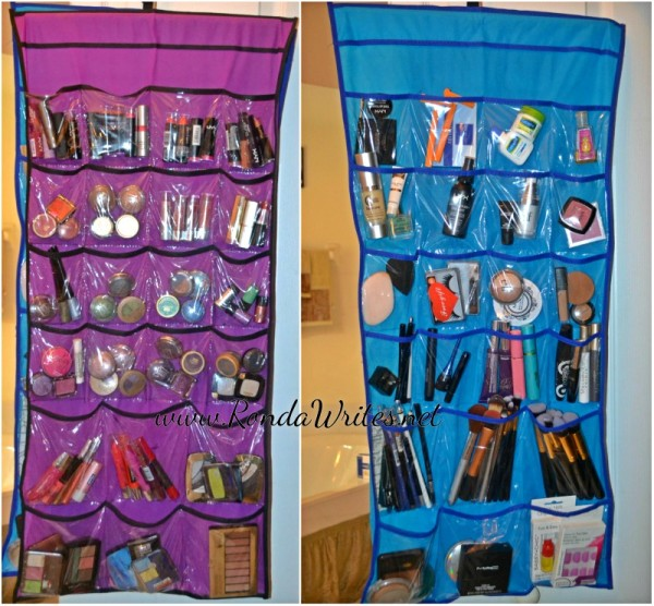 Affordable Way to Store / Organize Makeup - RondaWrites.net