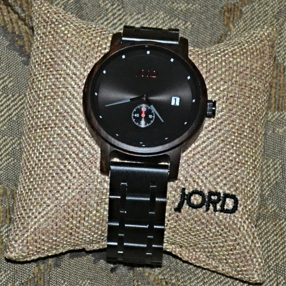 RondaWrites.Net | JORD Wooden Wrist Watches Review and Offer