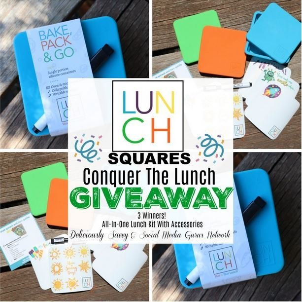 Lunch Squares Conquer The Lunch Giveaway - 8/12