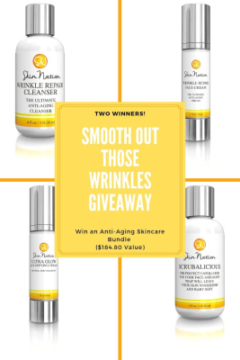 SKin Nation - Smooth Out Those Wrinkles Giveaway Ends 8/1