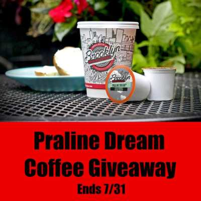Praline Dream Coffee Giveaway Ends 7/31