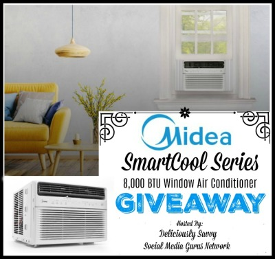 Midea SmartCool Series 8,000 BTU Window Air Conditioner