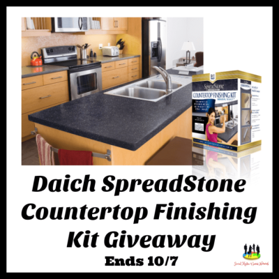 Daich Spreadstone Countertop Finishing Kit Giveaway - 10/7