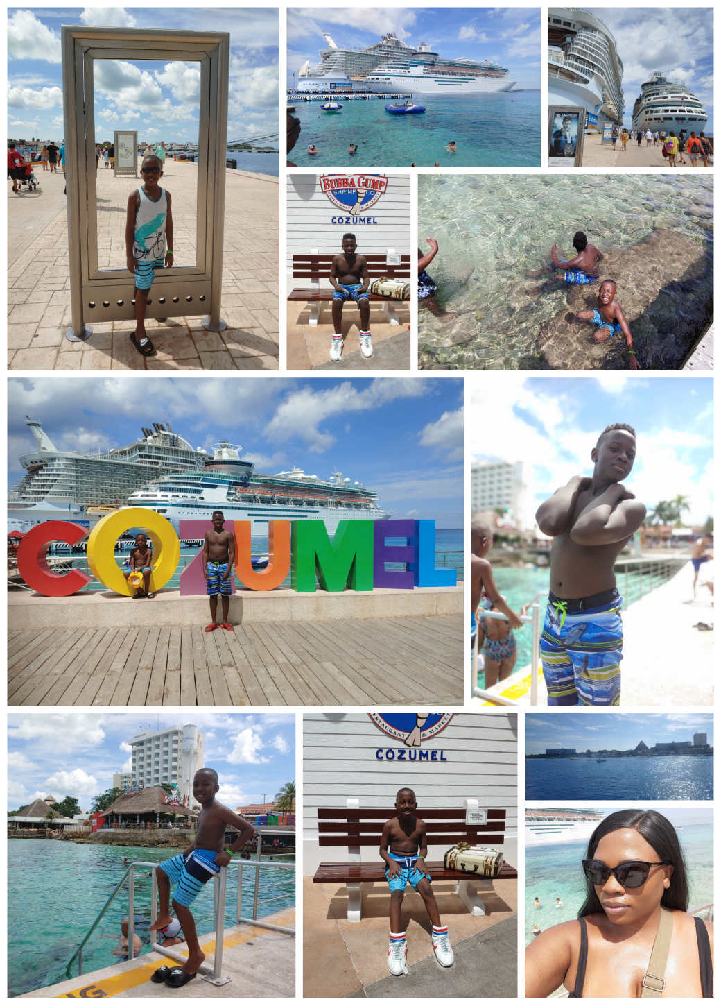 RondaWrites.net | Fun at the Royal Caribbean Cruise Port - Cozumel, MX