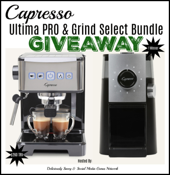 Capresso Ultimate PRO & Grind Select Bundle Giveaway - 12/24