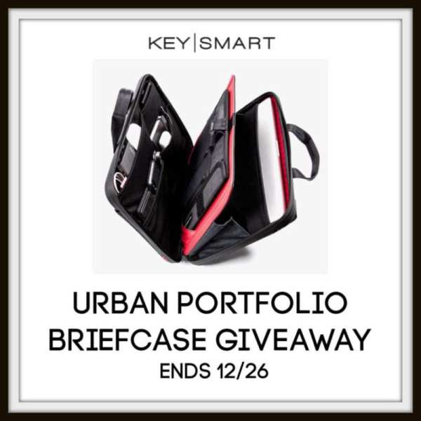 Urban Portfolio Briefcase Giveaway Ends 12/26